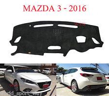 CHARCOAL DASHMAT DASH MAT MAZDA 3 BM Neo Sports MAXX SKYACTIVE 2/2014-2016 2017