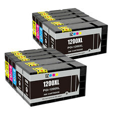 10PK PGI-1200XL 1200 XL Black & Color Ink Cartridges For Canon MAXIFY MB2020