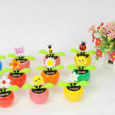 Solar Power Flip Flap Flower Swing Dancing Flower Toy Decor Sell H7A5 Car A4V0