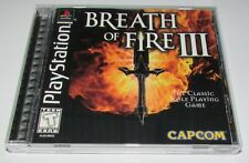 Breath of Fire III for Playstation PS1 Complete Fast Shipping!