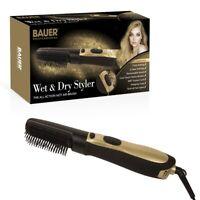 Bauer Professional Wet & Dry Hair Styler Hot Air Brush