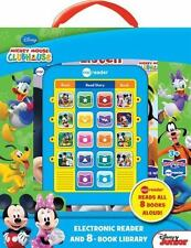 Mickey Mouse  E Reader and 8-Book Library. Brand New.