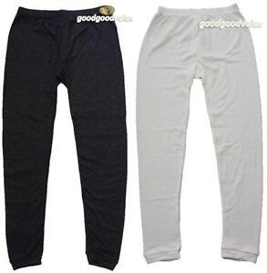Mens Wool Blend Thermal Long Johns / Pants  Extra Warm Underwear
