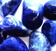 x1 Genuine Natural Sodalite Crystal Tumbled Stone