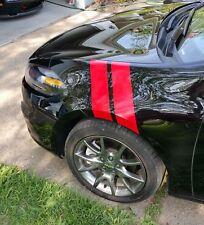 Fender Hash Stripes Marks 2 PAIR! - Dodge Dart Ram Fit Charger Camaro Mustang