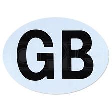 Gb / Gran Bretaña insignia / Sticker / Placa / Oval-viajes al extranjero-Magnética