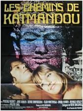 LES CHEMINS DE KATMANDOU Affiche Cinéma / Movie Poster ANDRE CAYATTE JANE BIRKIN