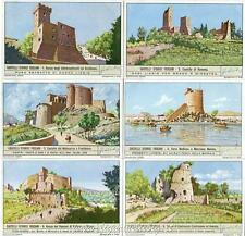 Chromo Liebig Sang. 1413 ITA Castelli Storici Toscani ANNO 1940