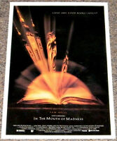 John Carpenter's IN THE MOUTH OF MADNESS 1994 ORIGINAL 13x20 HORROR MOVIE POSTER