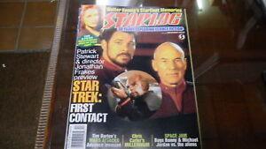 Starlog Yearbook December 1996 X-Files Star Trek 0627E