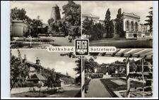 1962 Stempel WELSLEBEN über Schönebeck a/ DDR Postkarte