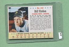 1963 Post #142 Bill Virdon (Pirates) (SC9)   Ex-Mt (Flat Rate Shipping)