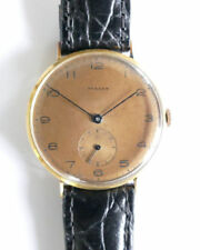 Turler 18K Solid Gold Adjusted Vintage Men's Dress Watch No Reserve Watches