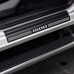 """Door Sill Plate Protectors """"1500"""" fits Dodge Ram Quad Cab Truck 1500 2012 - 2021"""