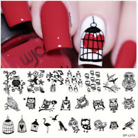 BORN PRETTY Nail Stamping Plates Lovely Owl Animals Image Templates