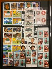 USPS 32 cent 11 blocks and strips MNH free shipping