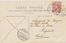FRANKREICH 1906 Säerin 10 C PARIS / R. JOUFFROY nach NEUCHATEL Schweiz AK PARIS