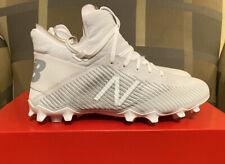 New Balance Freeze Lacrosse Cleats White Size 8 NIB