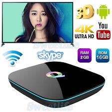 UHD Q-BOX 2G+16G 4K Android 6.0 Smart TV Box  Media Player Quad Core 2017 TV Box