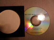 U2/City of blinding light Mexico Promo 2005 Cardsleeve CDP 201647  1-Tr./MCD