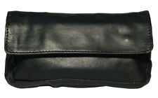 Leather Tobacco Pouch Organizer Black 1201