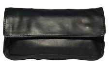 Leather Tobacco Pouch Organizer Black 1201