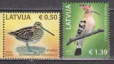 LATVIA 2014 **MNH SC# #  The Birds