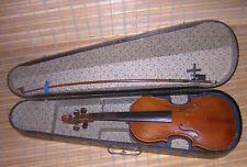 alte Geige mit Bogen vermutlich aus Markneukirchen aus Nachlass Nr.2
