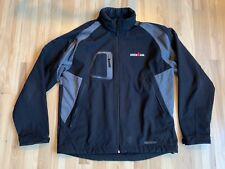 Ironman Triathlon Men's Size XL Zorrel  Black Two Zippers Broken Embroidered