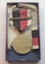 VINTAGE WW II Army Occupation Medal JAPAN BAR Set in BOX