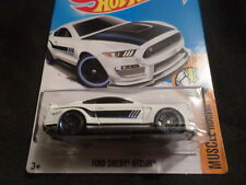 HW HOT WHEELS 2017 HW MUSCLE MANIA #2/10 FORD SHELBY GT3500R WHITE HOTWHEELS HTF
