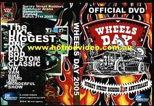WHEELS DAY  2005 UK RAT ROD HOT ROD CUSTOMS DVD RODS