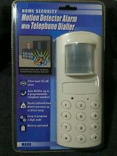 Home Security Alarm, Wireless Detector Alarm with Telephone Dialer