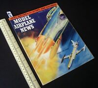 1952 Nov Vintage Model Airplane News USA Aeromodelling Hobby Magazine   (117)