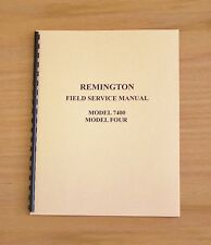 Remington Field Service Manual Model 7400 and  Model 4 Gunsmith - #2