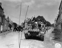 7x5 Gloss Photo ww524 Normandy English Channel Coutances 1944 15