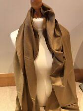 Ladies Scarf Pashmina Beige/ Greeny CJApparel Shawl/Wrap Tassels, BNWT