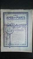 Revista Dibujada Las Amis De París N º 33 Mensual 1915 Gerente Claude Simond ABE