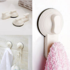 2pcs Strong Suction Cup Sucker Shower Towel Bathroom Kitchen Hooks Hanger Holder