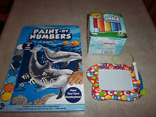 Fisher-Price DoodlePro Mini - Paint By Numbers Dolphin - Washable Sidewalk Chalk