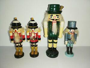 YUYAOSH Nussknacker Holzpuppe,6pcs 12cm Weihnachten Nussknacker Ornament Set Holz Nussknacker Charakter Soldat Spielzeug Holzpuppe Figur Figur Malerei Spielzeug