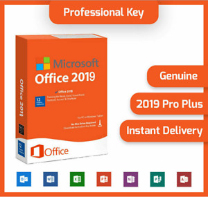 🔥MS®Office PROFESSIONAL PLUS 2019 PRO 🔥Fast ®DELIVERY 🔥 Ratail² KEY²