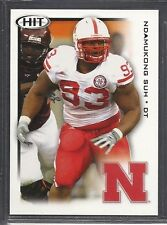 2010 Sage Hit Football - Rookie - #77 - Ndamukong Suh - Nebraska Cornhuskers