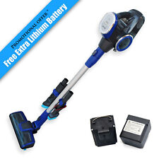 Seamax Cordless Stick Vacuum with 22.2V Lithium Battery with Free Extra Battery