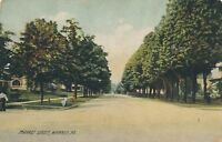 WARREN PA – Market Street Rotograph Postcard - 1908