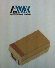 Lot Of 2000 AVX TPSA225K010R1800 Tantalum Capacitors Solid SMD 2.2UF 10V 10 #W16