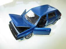 Volkswagen VW Golf Mk II 2 in blau blu bleu blue metallic, Schabak 1:43 DEALER!