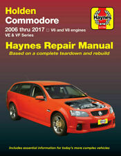 HM Holden Commodore Ve VF Petrol 2006-17 by Haynes 9781620921609 |
