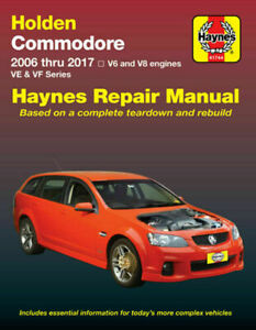 Holden Commodore VE VF 6cyl & 8cyl 2006-2017 Repair Manual