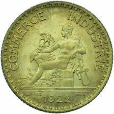 More details for coin / france commerce industrie 1 franc 1922 unc mint lustre  #wt23574
